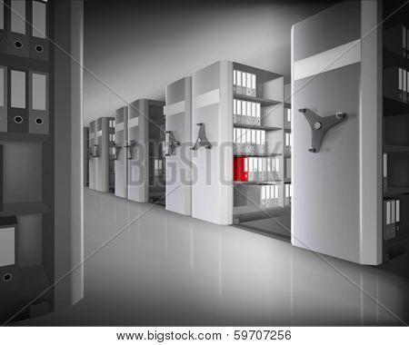 Archive. Vector illustration.