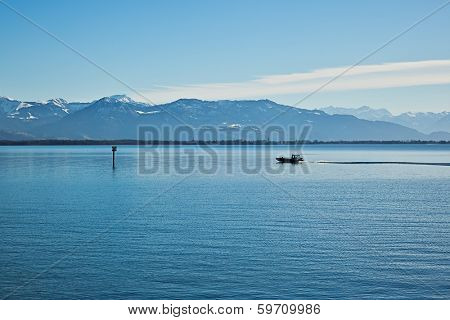 An image of the beautiful Lake Constance