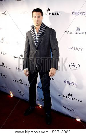 NEW YORK-FEB 10: Fancy owner Rory Golod attends the Cantamessa Men Launch Party at Tao Downtown Lounge on February 10, 2014 in New York City.