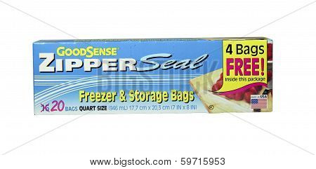 Box Of Good Sense Freezer And Storage Bags