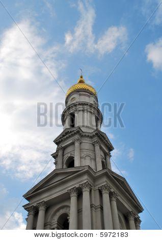 Great Church In Blue Sky
