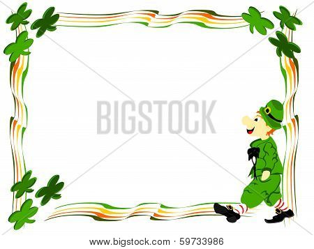 Leprechaun Walk Boarder
