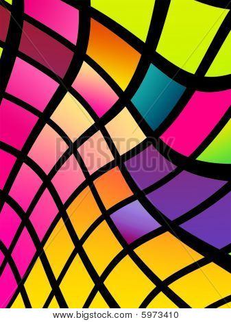 Disco-Style Background