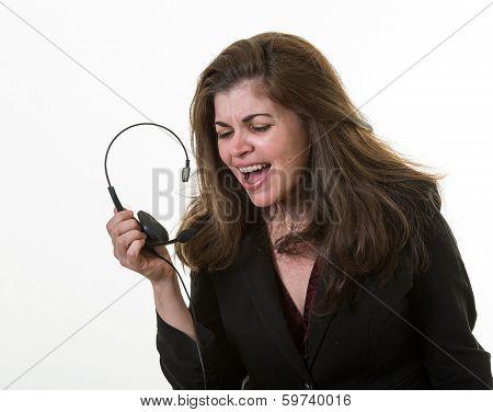 Desperate Associate In Call Center