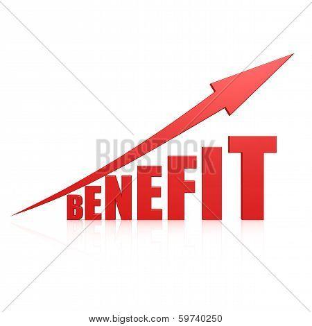 Benefit Red Arrow