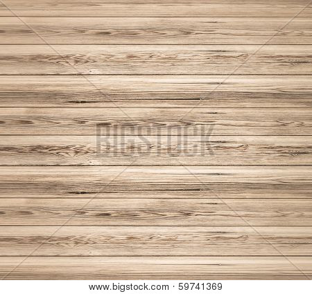 Background of an old natural wooden darken room with messy and grungy cracked tree floor of beech texture inside vintage neglected and deserted warm rural interior with wood, shadows, dingy, dim light