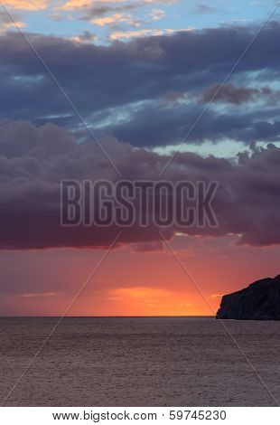 Orange Blue Skyscape