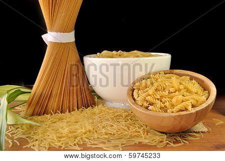 Macaroni, Spaghetti And Pasta