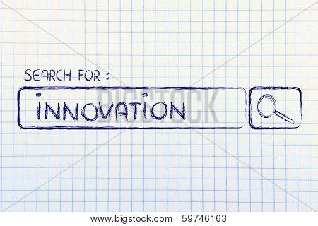 Search Engine Bar, Seeking Innovation