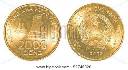 2000 Vietnamese Dong Coin
