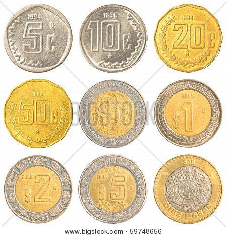 Mexico Circulating Coins