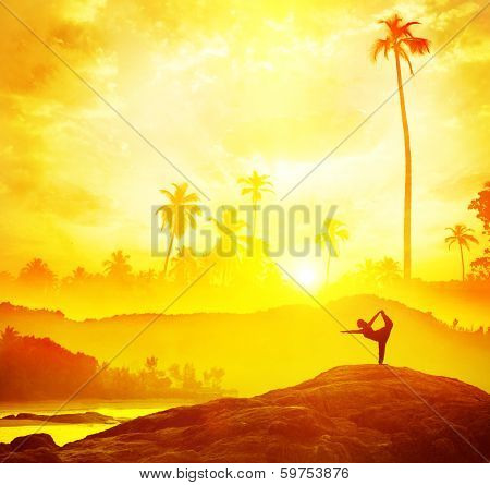 Yoga In Tropical India