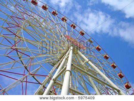 Ferris wheel in Minsk, Belorus