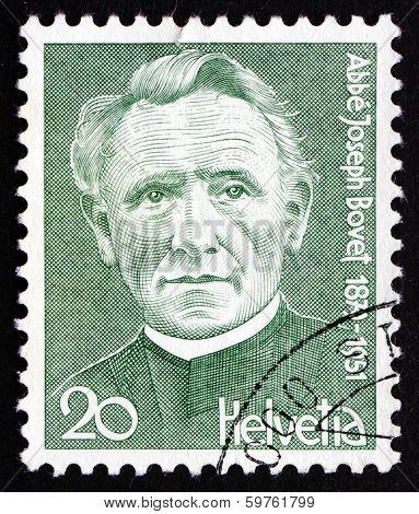 Postage Stamp Switzerland 1978 Joseph Bovet, Composer