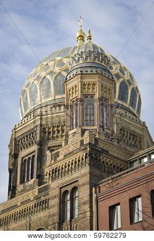 Neue Synagogue In Berlin, Germay