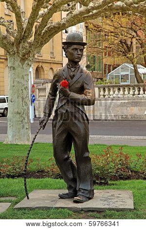 Charlie Chaplinvevey Switzerland