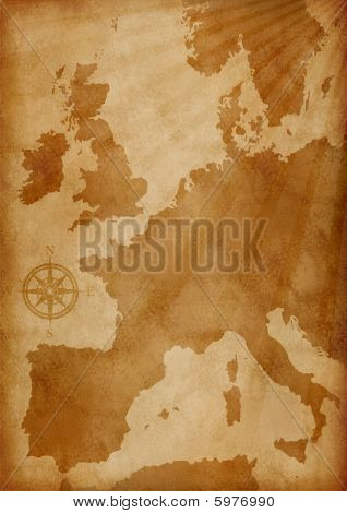Old Europe Map