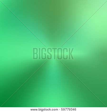 Vector abstract circular green metallic texture