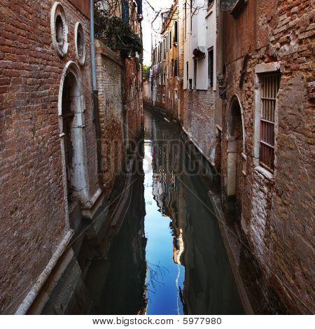 Small Channel In Venice