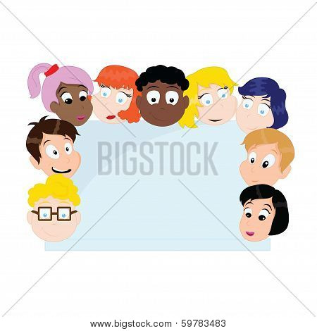 Cartoon Children Group