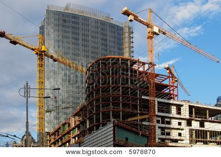 Skyscraper construction