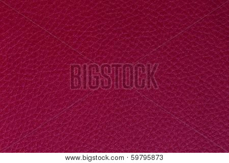 Background and texture imitation leather magenta