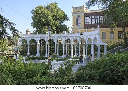 Governor s garden in Baku