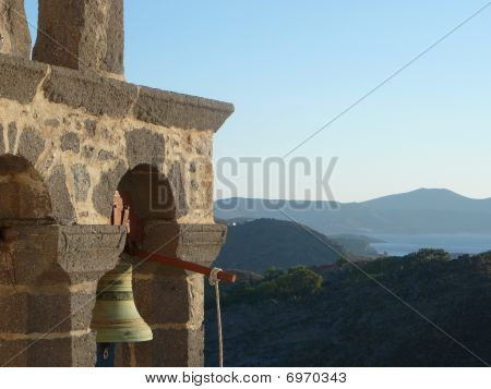 Bell Tower On Patmos