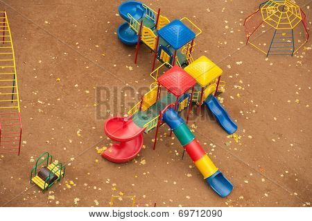 Children's Play Complex, View From Above