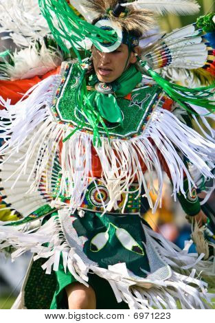 Powwow Fancy Dancer