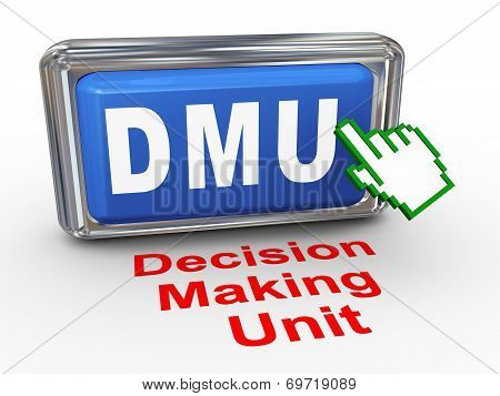 3D Hand Cursor - Decision Making Unit Button