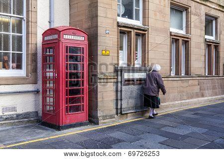 Lerwick Downtown,Scotland