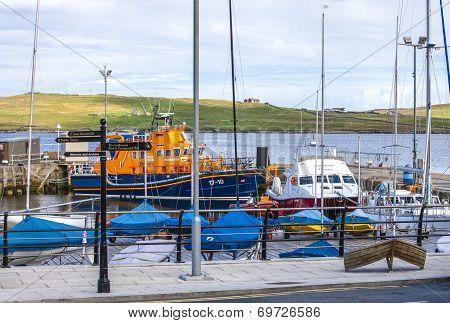 Lerwick, uk, harbor4