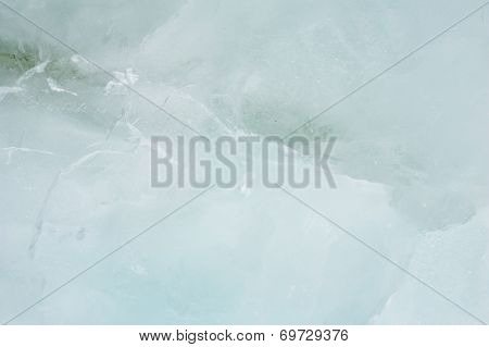 Grayish Green Ice Texture