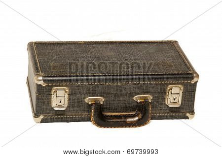 Small Antique Case On White