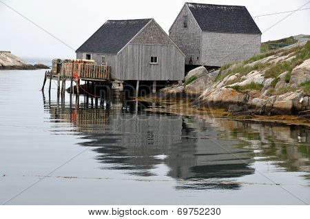 Typical fisherman village