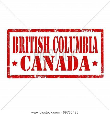 British Columbia-stamp
