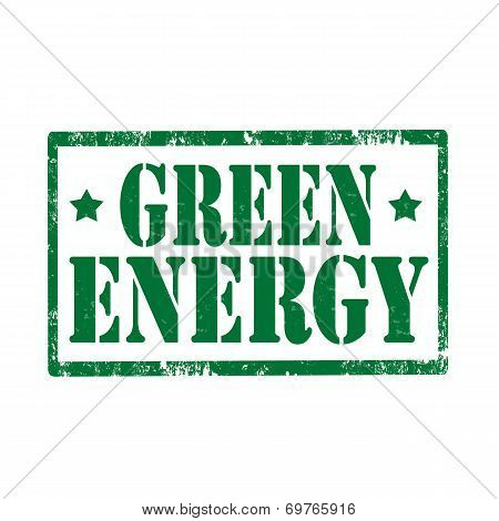 Green Energy-stamp