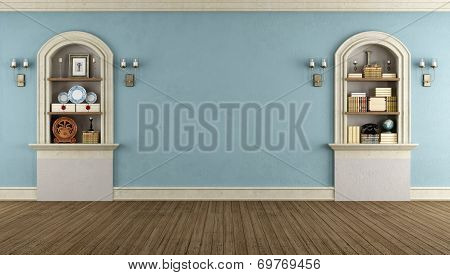Vintage Room With Arched Niche