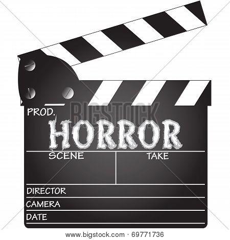 Horror Clapper Board