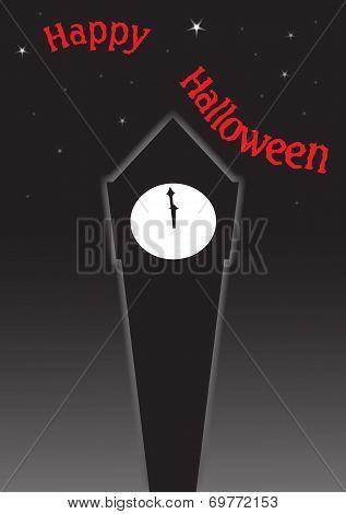 Halloween Clock Tower