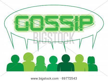 Gossip Speech Bubble