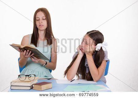 Trainee Teacher Listens Thoughtfully