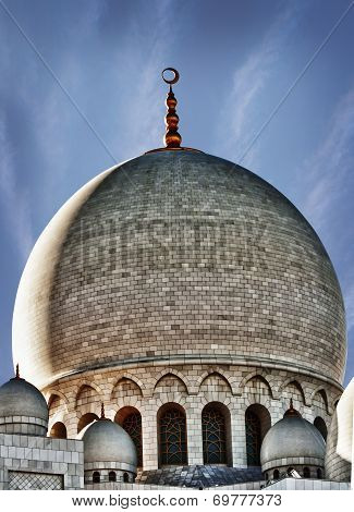 Tomb of mosque In HDR