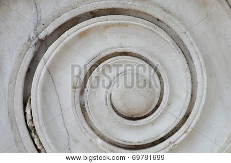 Ancient Marble Spiral