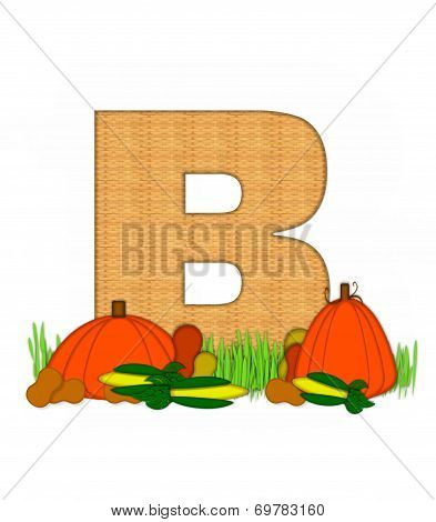 Alphabet Blessed Bounty B