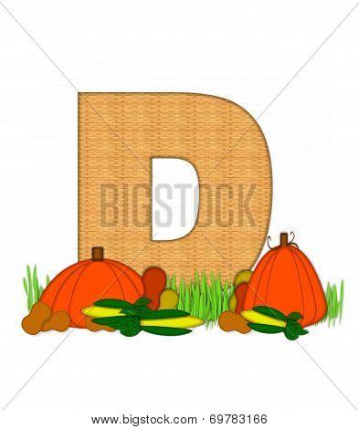 Alphabet Blessed Bounty D