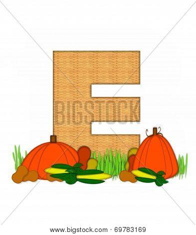 Alphabet Blessed Bounty E