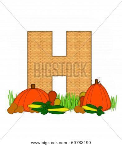 Alphabet Blessed Bounty H