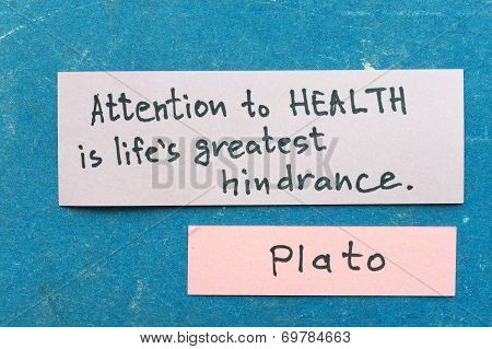 Attention To Health